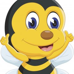 Smiling Bumblebee